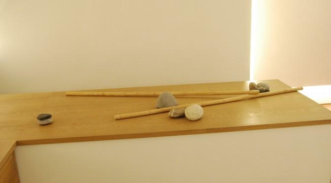 Experimentelle Zenkünste Steine