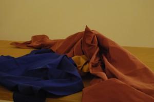 Experimentelle Zenkünste mit Tüchern